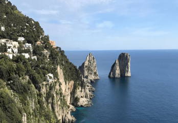 Capri Day Tour reaching Naples by fast train from Rome