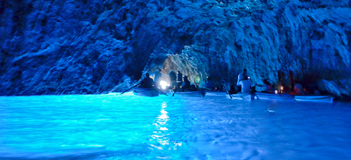 Capri and Blue Grotto tour